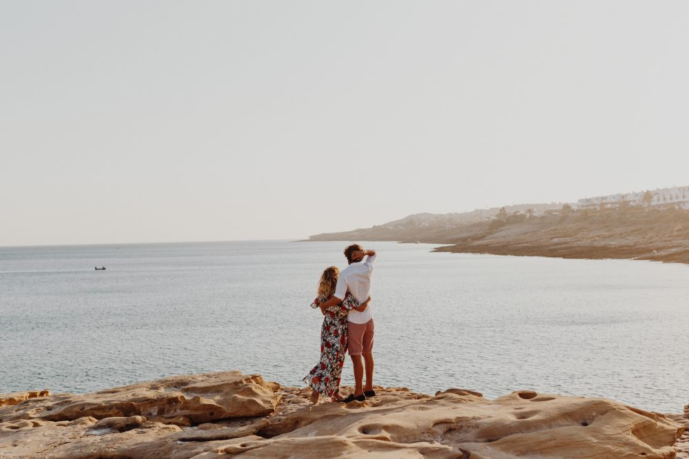 Engagement shoot Beach